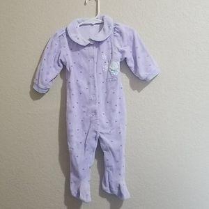 Carter's one piece footie pajamas